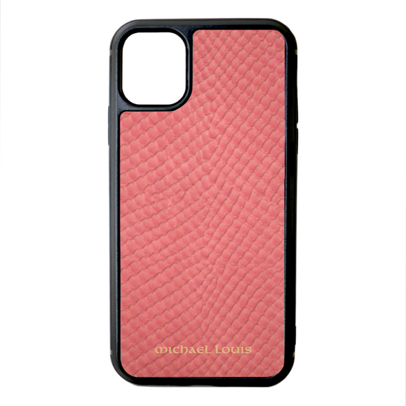Pink Snake iPhone 11 Case