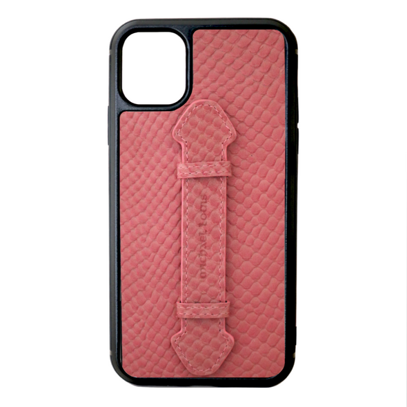 Pink Snake iPhone 11 Strap Case