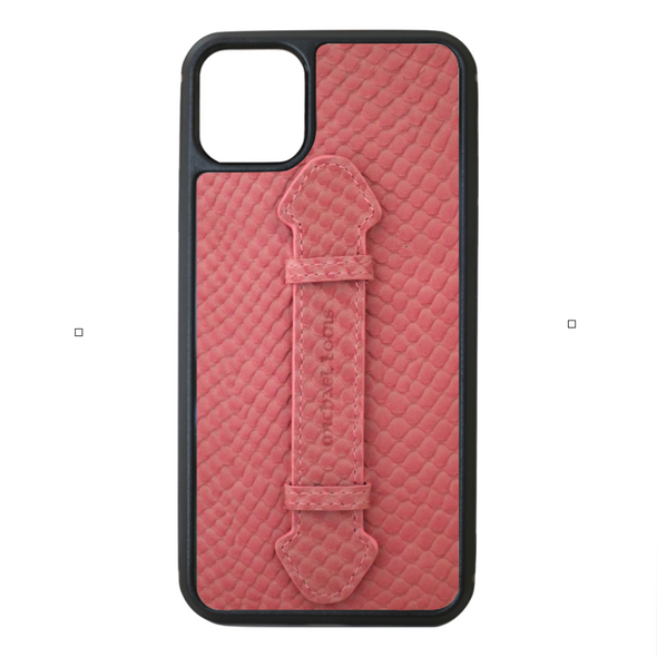 Pink Snake iPhone 11 Pro Max Strap Case