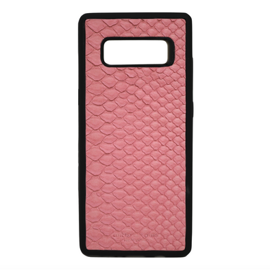 Pink Snakeskin Galaxy Note 8 Case