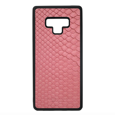 Pink Python Snakeskin Galaxy Note 9 Case
