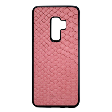 Pink Python Snakeskin Galaxy S9 Plus Case