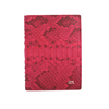 Pink Python Passport Holder