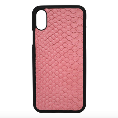 Pink Snakeskin iPhone X/XS Case