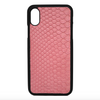 Pink Snakeskin iPhone XR Case