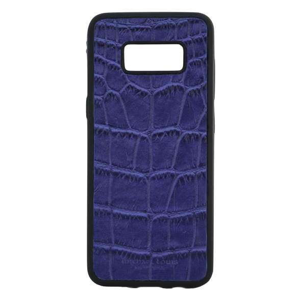 Purple Croc Galaxy S8 Case