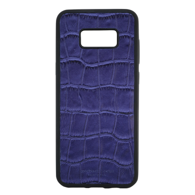 Purple Croc Galaxy S8 Plus Case