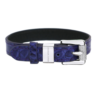 Soho Bracelet - Purple Croc