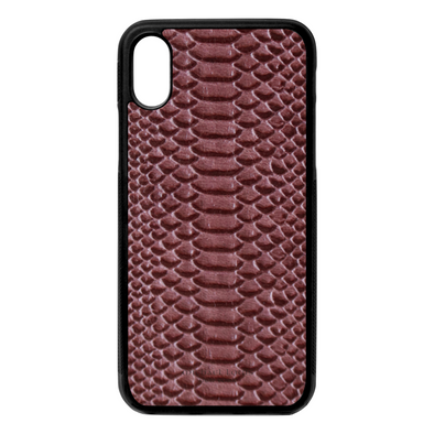 Purple Python iPhone X/XS Case