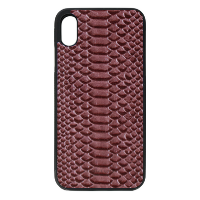 Purple Python iPhone XR Case