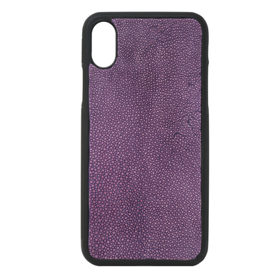 Purple Stingray iPhone X Case