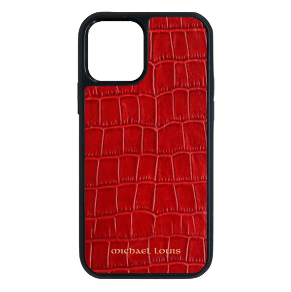 Red Croc iPhone 12 Pro Max Case