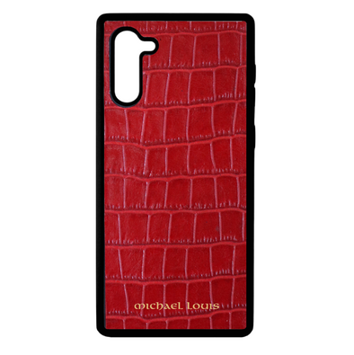 Red Croc Galaxy Note 10 Case