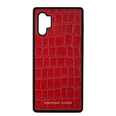 Red Croc Galaxy Note 10 Plus Case