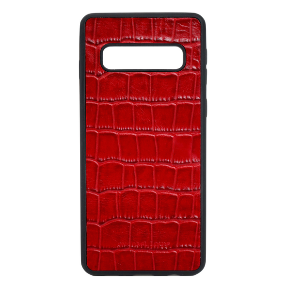 Red Croc Galaxy S10 Case