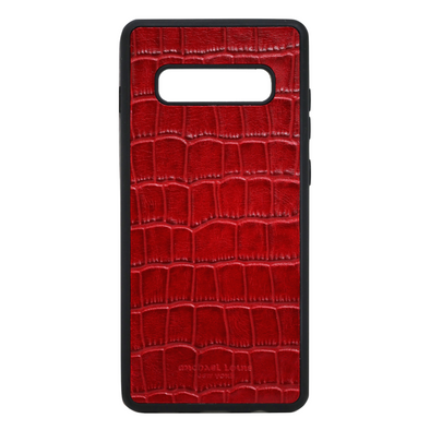 Red Croc Galaxy S10 Plus Case