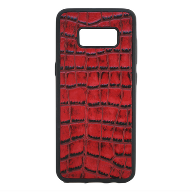 Red Croc Galaxy S8 Case