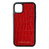 Red Croc iPhone 11 Case