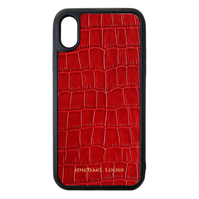 Red Croc iPhone XR Case