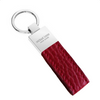 Red Pebbled Leather Classic Key Holder