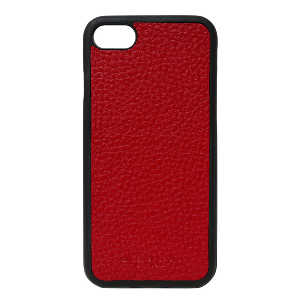 Red Pebbled Leather iPhone 7 / 8 Case