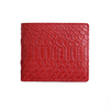 Red Python Classic Bifold Wallet