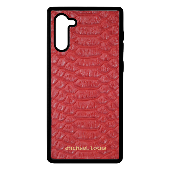 Red Python Galaxy Note 10 Case