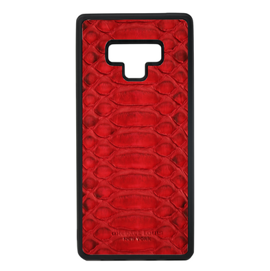Red Python Galaxy Note 9 Case