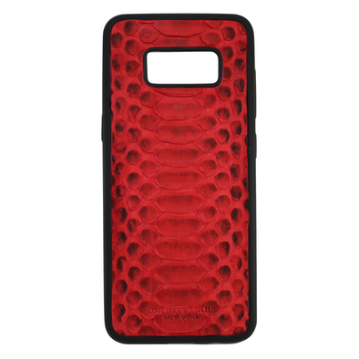 Red Python Galaxy S8 Case