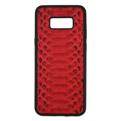 Red Python Galaxy S8 Plus Case