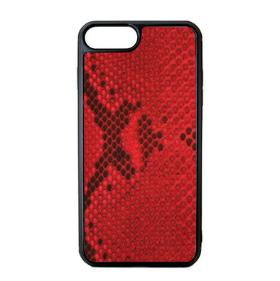 Red Python Snakeskin iPhone 7 Plus / 8 Plus Case