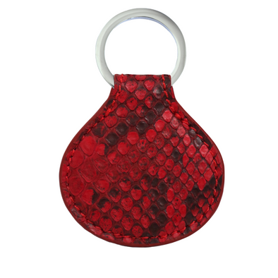Red Python Tag Key Holder