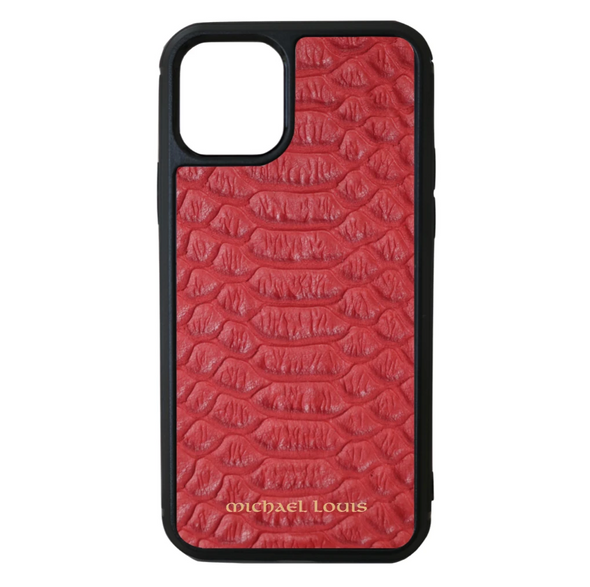 Red Python iPhone 11 Pro Case