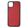 Red Python iPhone 11 Pro Max Case