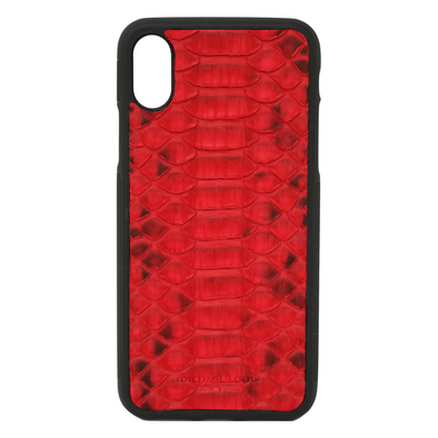 Red Python iPhone XR Case