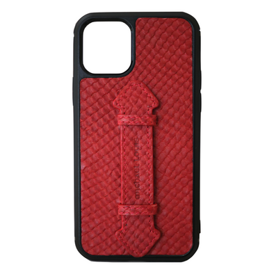 Red Snake iPhone 11 Pro Strap Case