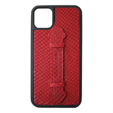 Red Snake iPhone 11 Pro Max Strap Case
