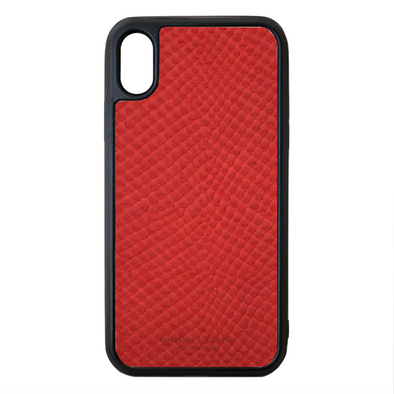 Red Snake iPhone XR Case