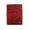 Red Python Passport Holder