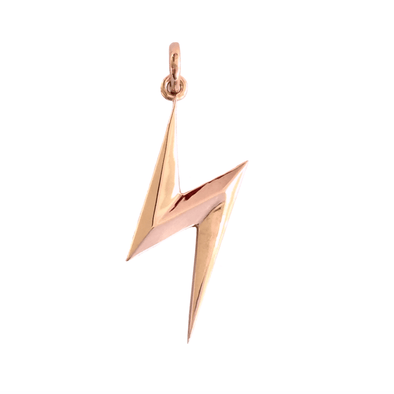 Rose Gold Bolt Pendant