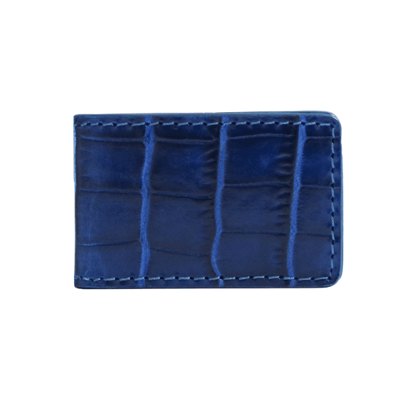 Blue Croc Money Clip