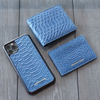 Blue Python iPhone 11 Pro Case