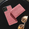 Pink Python Classic Card Holder