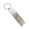 Grey Pebbled Leather Classic Key Holder