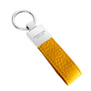 Yellow Pebbled Leather Classic Key Holder