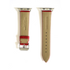 Red Pebbled Leather Apple Watch Strap (38/40 mm)