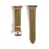 Pink Pebbled Leather Apple Watch Strap (38/40 mm)