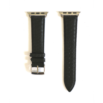 Black Python Apple Watch Strap (42/44 mm)