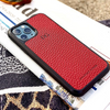Red Pebbled Leather iPhone 11 Pro Max Case