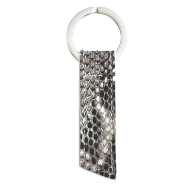 Natural Python Ribbon Key Holder